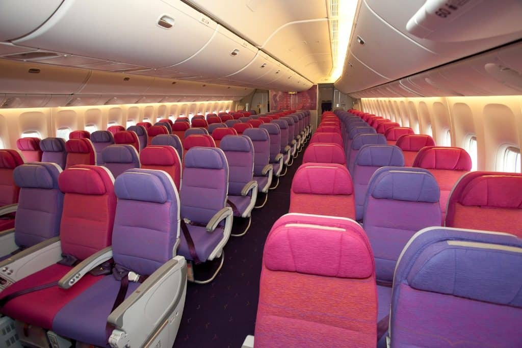 interior Thai Airways