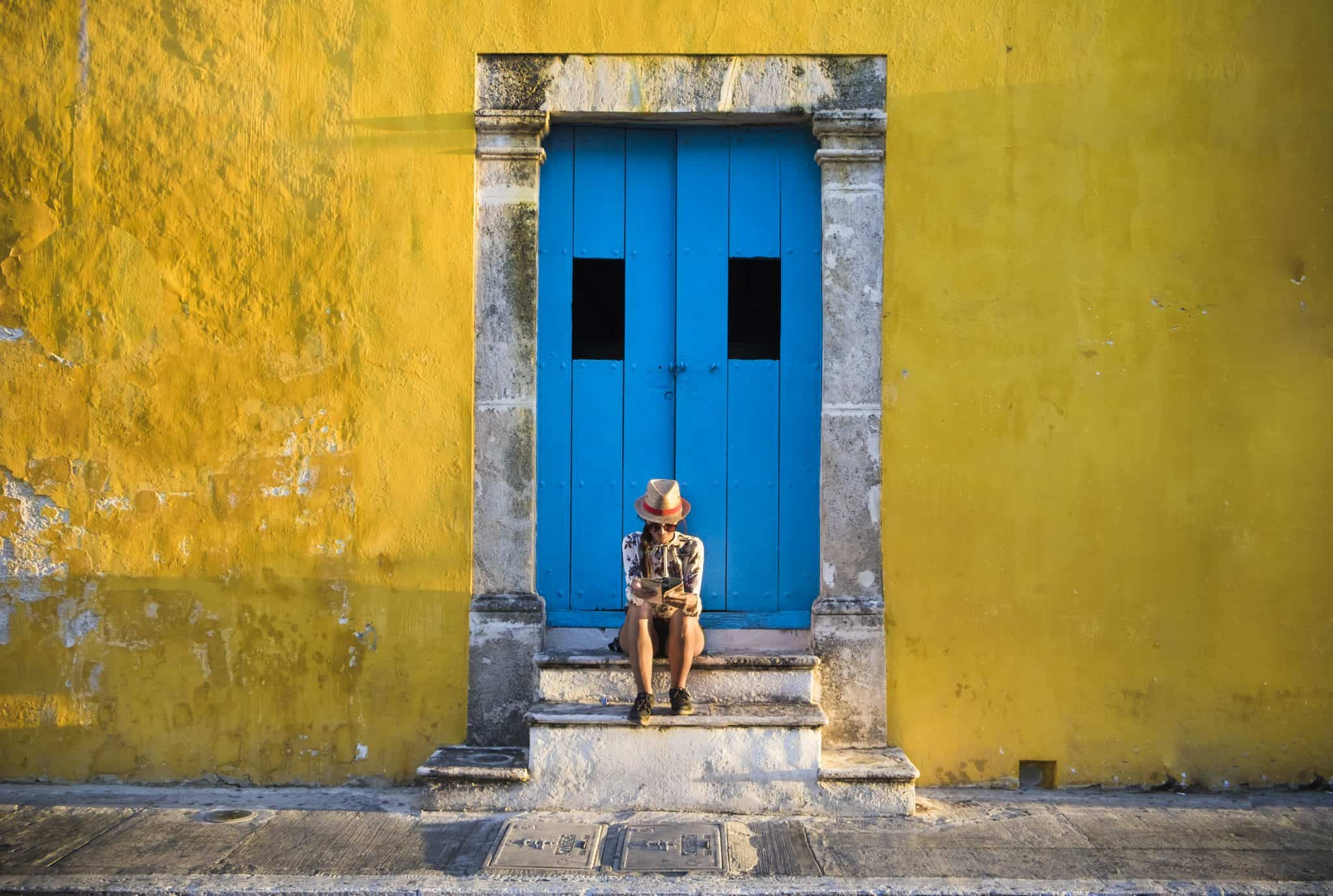 Campeche, uma das cidades mais coloridas do México