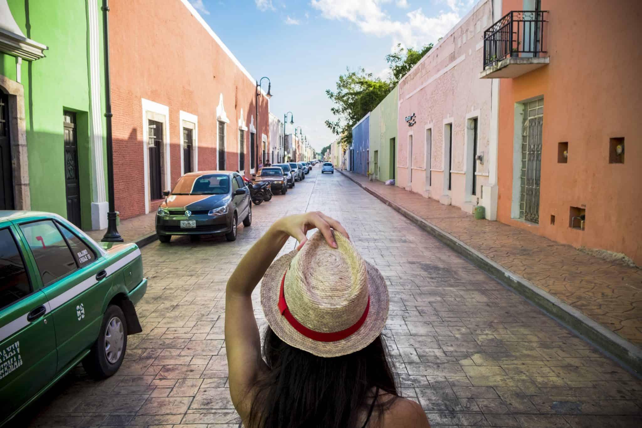 As ruelas coloridas de Valladolid
