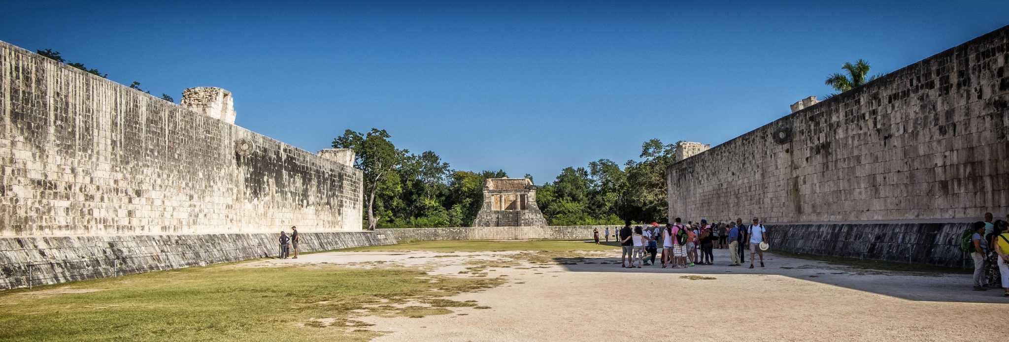Jogo de Pelota no Chichén Itzá
