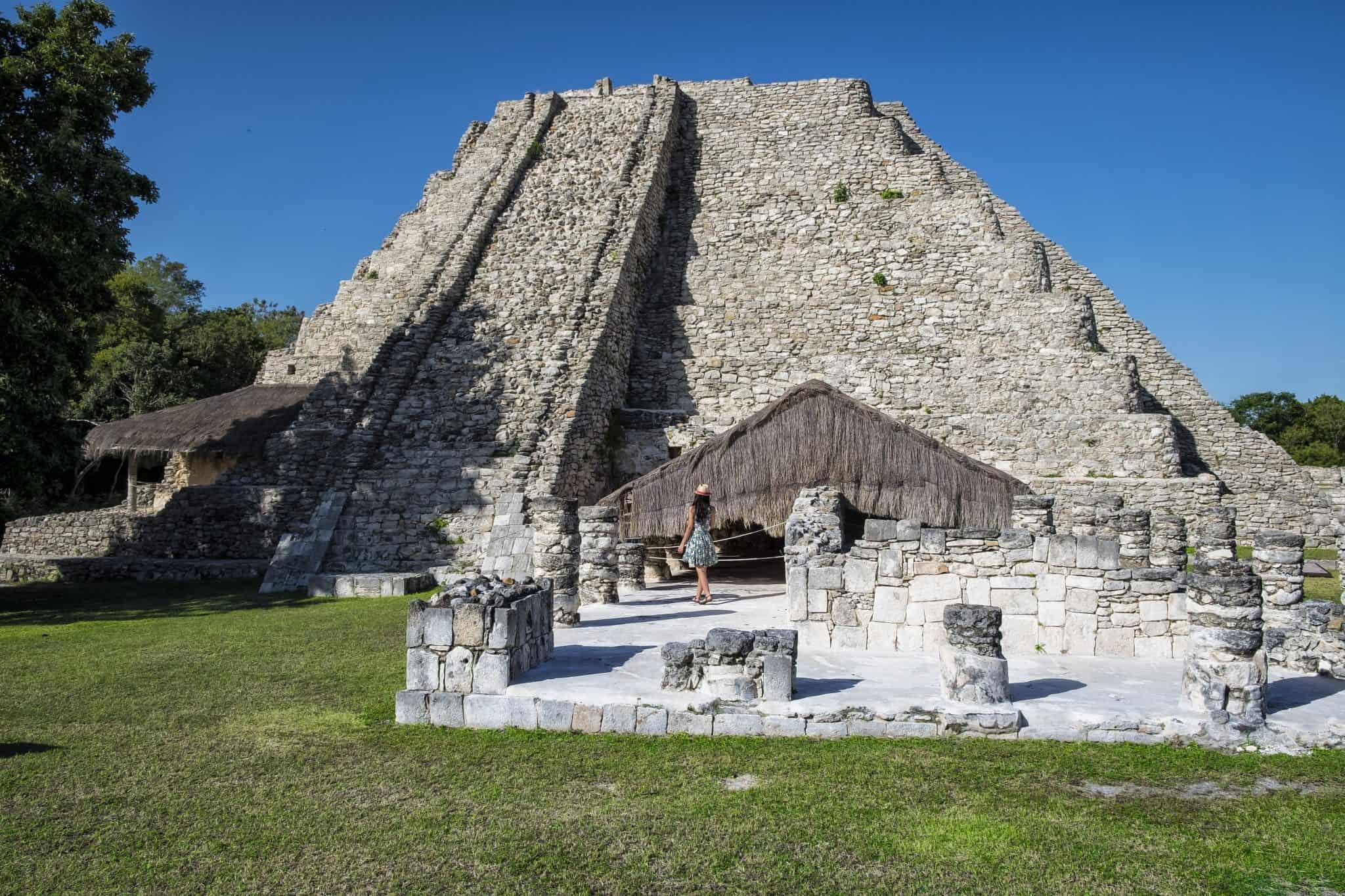 Pirâmide principal de Mayapán