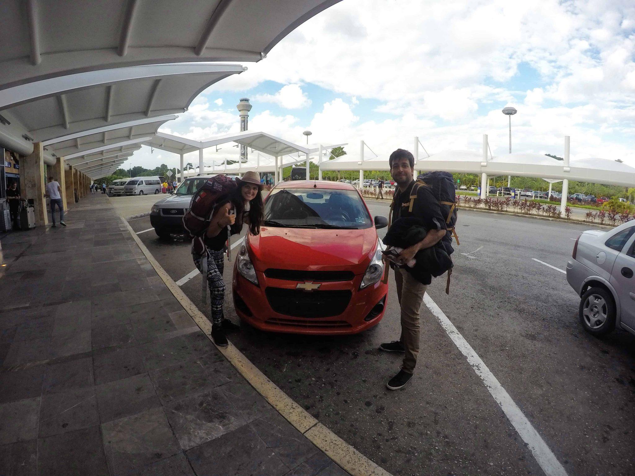 Alugar um carro no México